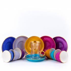 Arabic coffee cups set