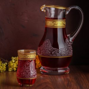jug and glasses set